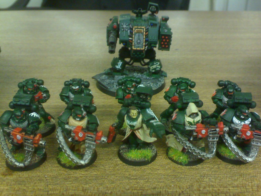 9th Squad Devastator and 1st Dreadnought.JPG